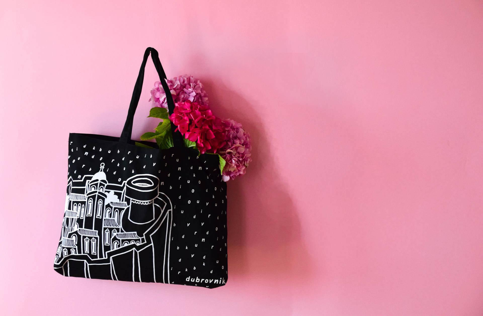 Bural tote bag souvenir from Dubrovnik