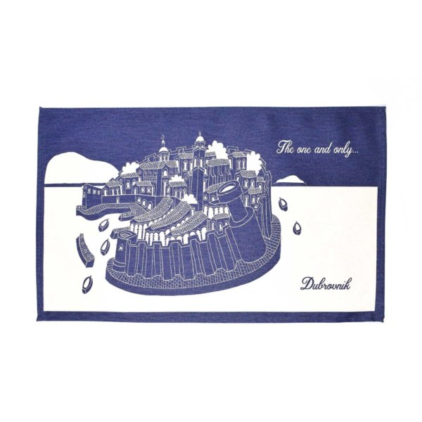 Bural placemat - thing to buy in Dubrovnik