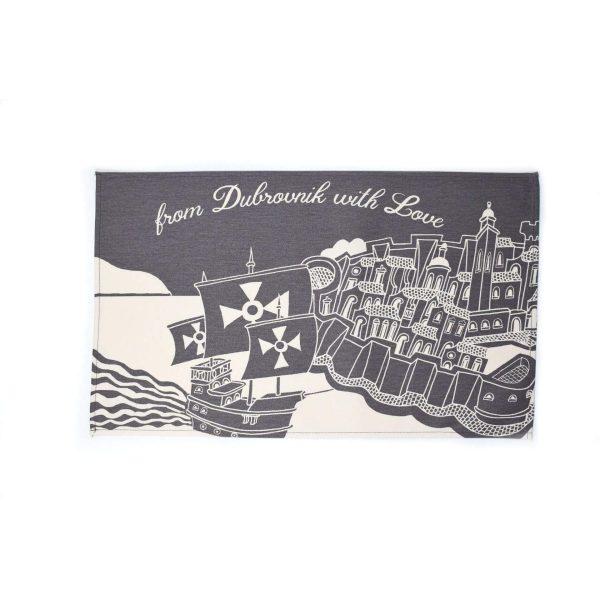 Kitchen placemat a Dubrovnik souvenir