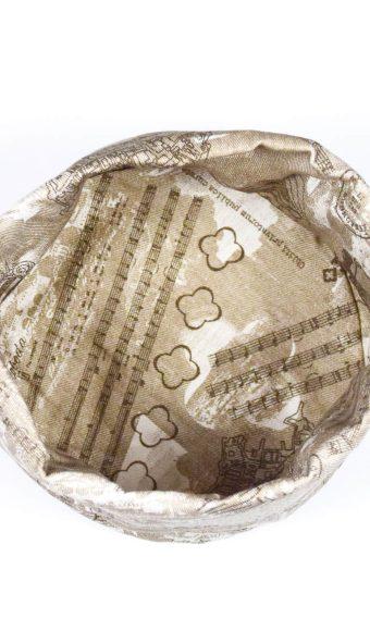 Platnena košarica za kruh - dubrovački suvenir