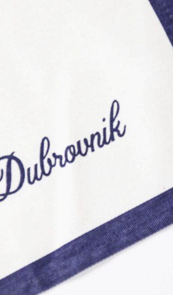 Dubrovnik na kuhinjskoj krpi
