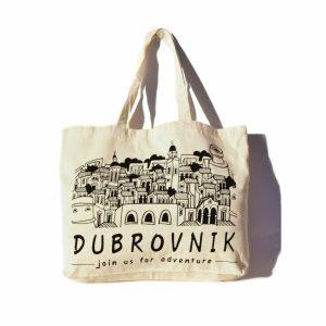 Platnena torba s motivima Dubrovnika je savršena uspomena s vašeg putovanja