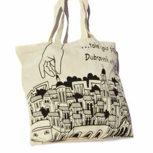 Bural tote bag - thing to buy in Dubrovnik