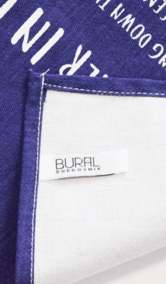 Detail from Bural kitchen towel