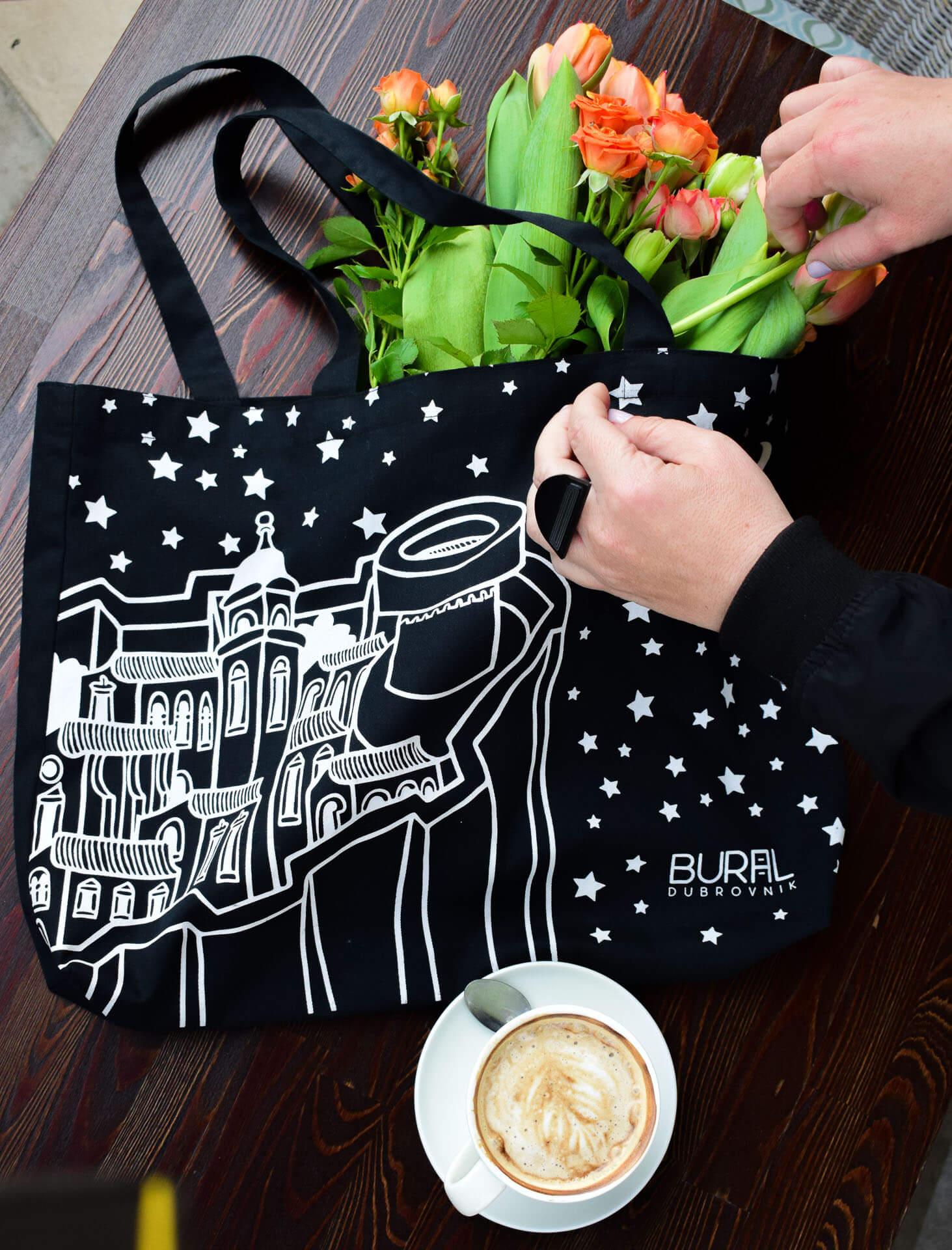 torba od tkanine - suvenir Dubrovnik