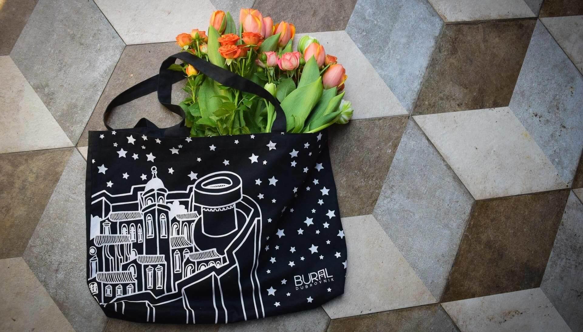 torba od pamuka - motiv Dubrovnika